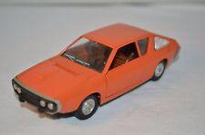 Pilen 341 Renault 17 TS orange 1:43 in 99.9% mint condition