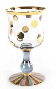 Mackenzie Childs Foxtrot Water Glass