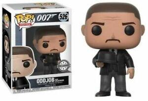 FUNKO POP! MOVIES: JAMES BOND 007 GOLDFINGER ODDJOB #526 - GIFT IDEA