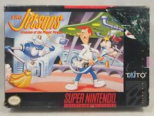 The Jetsons Invasion of the Planet Pirates (Super Nintendo   SNES) BOX ONLY