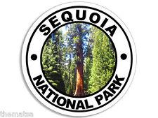 "SEQUOIA NATIONAL PARK 4"" HELMET CAR  BUMPER STICKER DECAL MADE IN USA"