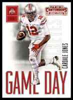2016 PANINI CONTENDERS GAME DAY CARDALE JONES RC OHIO STATE BUCKEYES #9