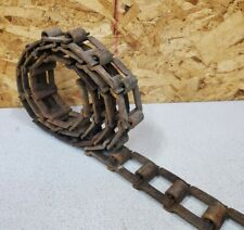 New ListingVintage Industrial Machine Sprocket Gear Square Flat Link Chain,7',Upcycle Decor