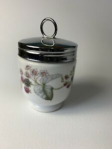 Classic Royal Worcester Egg Coddler Berry Pattern