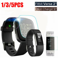 For Fitbit Versa Lite Versa 2 Charge 2 3 Tempered Glass Screen Protector Cover