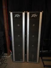 Peavey Twin columns Stage PA Speakers