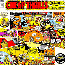 Janis Joplin - Cheap Thrils 180g vinyl LP NEW/SEALED Pearl Big Brother Holding