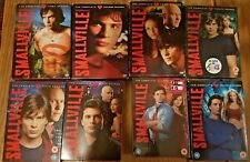 Smallville Seasons 1 - 8 DVD Boxsets (some new and sealed)