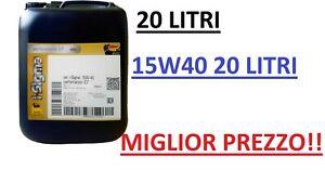20 LITRI OLIO MOTORE ENI I-SIGMA PERFORMANCE E7 15W-40 MIGLIOR PREZZO!!!