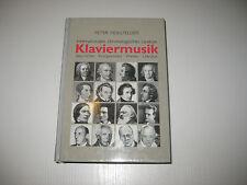 Internationales chronologisches Lexikon Klaviermusik von Peter Hollfelder (1999)