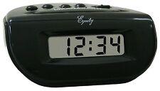 31003 Equity by La Crosse Digital Alarm Clock Black Case Refurbished - LOT OF 10