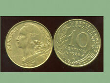 FRANCE  FRANCIA  10 centimes 1988 marianne