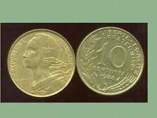 FRANCE  FRANCIA  10 centimes 1988 marianne  ( bis )