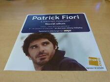 PATRICK FIORI - L'INSTINCT MASCULIN !!!!!!!!PLV PAPIER 30 X 30 CM
