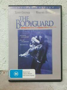 THE BODYGUARD DVD - 1992 Kevin Costner, Whitney Houston - SPECIAL EDITON - REG 4