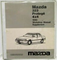 1990 Mazda 323 Protege 4x4 Service Shop Repair Manual