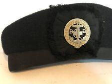 More details for original antique vintage boys brigade cap badge and cap sure stedfast