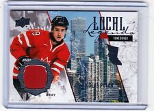 2015 UPPER DECK TEAM CANADA JUNIORS NICOLAS PETAN LOCAL LEGENDS JERSEY NP JETS