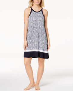SIZES/COLORS DKNY Sleeveless Contrast-Trim Nightgown
