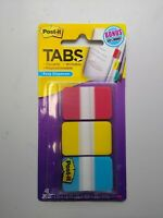 Lot of 3 - Post-it Durable Index Tab - 36 X Write-on 1 Pack Red- Blue- Yellow 3m