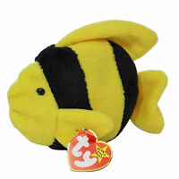 Ty Beanie Baby Bubbles - MWMT, Fish -  (SP)