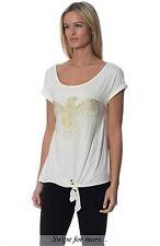 Morgan RPP £35 Short Sleeve Bird T-shirtColour White size 6, 8, 10, XS, S, M