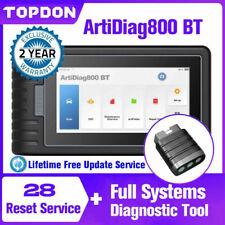 TOPDON AD800BT MK808 Auto OBD2 Diagnostico Scanner Tavoletta Sistema completo IT