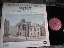 ESTHER NYFFENEGGER Cello on BEETHOVEN - SEPTET op.20, HI-FI STEREO MAROON NM