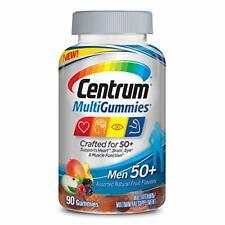Centrum Multi-Gummies Men 50+. EXP.6/20.