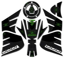 Stickers Kit GEL Guards Compatible Motorcycle Kawasaki Z1000 Green 2014-2020