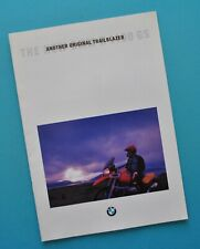 Original Vintage 1994 BMW Motorcycle Brochure Book R1100GS