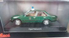 1/43 Schuco Opel Rekord E Polizei Hamburg 03425