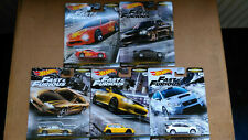 HOT WHEELS FAST TUNERS - Set of 5 - / Fast & Furious