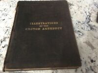 Vintage Illustrations of the Croton Aqueduct by Fayette B.Tower,1843 first editi