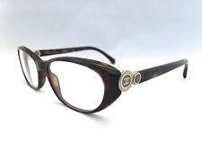 Authentic Chanel Glasses 3203 714 Tortoise 53mm Eyeglasses Frames RX