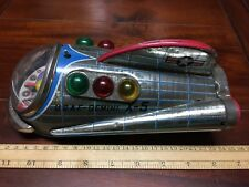 Vintage Modern Toys Japan Tinplate Battery Operated Gemini X5 Spaceship
