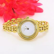Authentic GUCCI GOLD Luxury women's watch 11/12.2 yellow gold tone