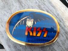 .Kiss Belt Buckle 1977 AMI Pacifica Gene Demon  Kiss Logo RARE