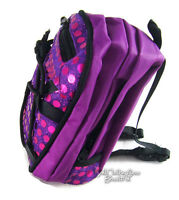 """Purple Sequin Backpack for 18"""" American Girl Doll Back-To-School Accessories"""