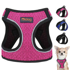 Soft Mesh Step-in Small Dog Harness Nylon Reflective Medium Dog Harness Vest S-L