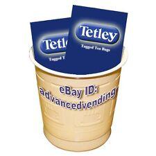 Tetley Tea white (T BAGS) in cup vending machines 73mm Darenth Klix incup drinks