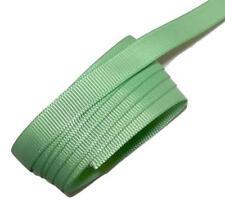 "5 yards Mint green 3/8"" grosgrain ribbon by the yard DIY hair bows"