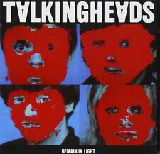 Talking Heads - Remain In Light - Mini Poster & Black Card Frame