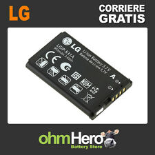 LGIP-531A Batteria ORIGINALE per Lg KE310, KG280, KM300, KP100, KP215, Ku250,