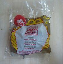 McDonald's Disney's Animal Kingdom park Rhinoceros mobile #12 1998 happy meal