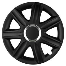 Mini Cooper 15 Stylish Black Lightning Wheel Cover Hub Caps x4