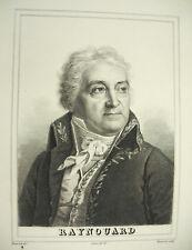 François Just Marie Raynouard Brignoles Var troubadours Bonvoisin Couché c1880