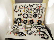 New listing 31pc lot Speaker Cable electronics Home Audio Video Interconnects Tv Accessories