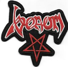 Venom (band) pentagram Embroidered Patch Iron-On Sew-On fast Us shipping