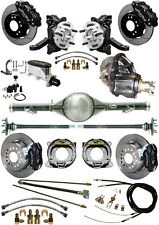 "NEW 2.5"" DROP WILWOOD BRAKE & CURRIE REAR END SET,POSI,63-70 C10,C15 TRUCK,BLACK"